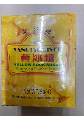 Yangtseriver Yellow Rock Sugar 500g
