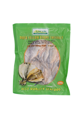 Kimson dried Yellow Trevally Salty 200g