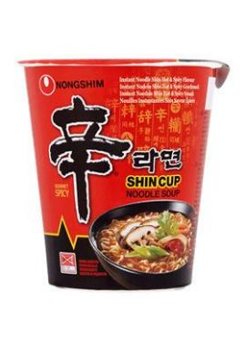 Nongshim Cup Noodle Spicy 68g