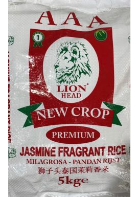 Lion Head Jasmine Rice 5kg