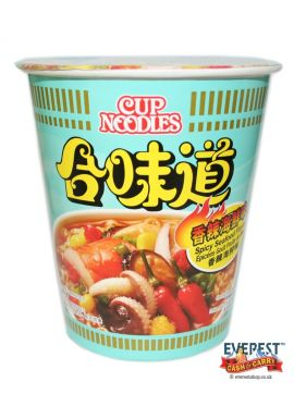 Nissin Seafood Cup Noodles Spicy 75g