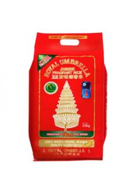 Royal Umbrella Thai Hom Mali Jasmine Rice 10kg