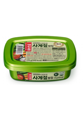 Korean Seasoned Soya Bean Paste 170g