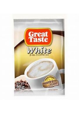 Great Taste White Coffee 10X30g